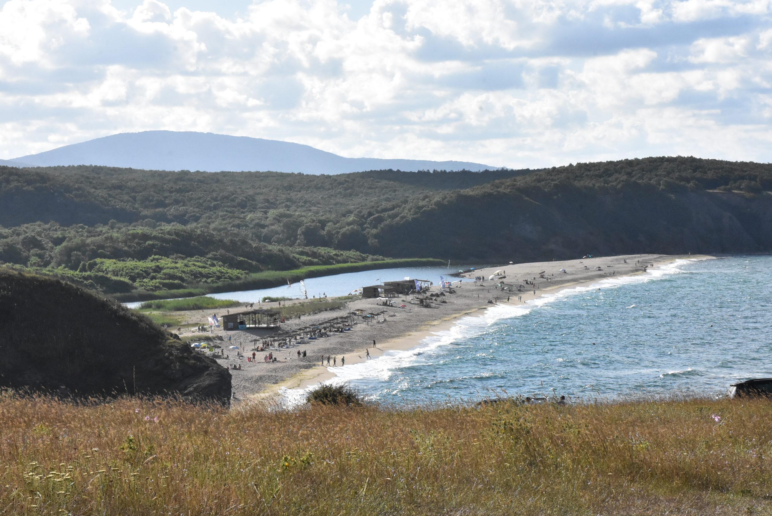 с.Синеморец – северен плаж, устие на р.Велека